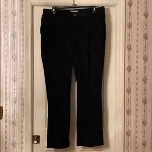 Lee Classic Fit Black Jeans